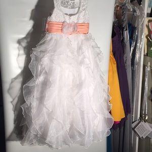lovely fairytale style flower girl dress size 5